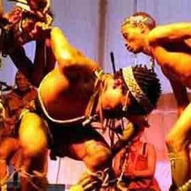 Namibian Tribal Performers