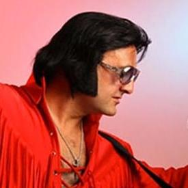 Ray Wood as Elvis