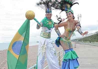 Brazilian Stilt Walkers