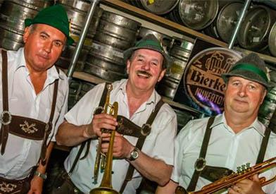 The Alpine Stompers Bavarian Band