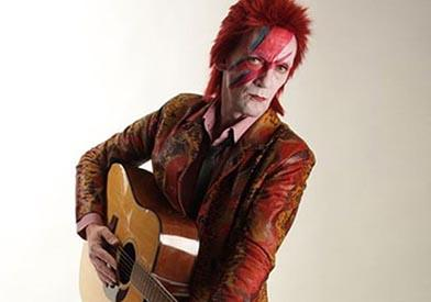 Stuart Roach as David Bowie